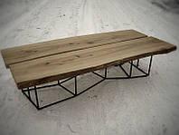 Большой Кофейный столик из массива ясеня, фото 1