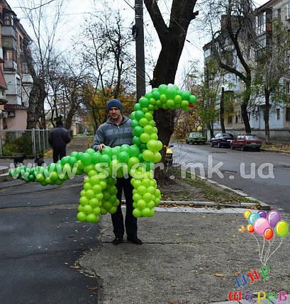 Динозавр Дино из воздушных шаров, фото 2