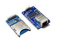 Сетевой модуль ENC28J60 Ethernet LAN и  модуль SD карт для Arduino 51 AVR ARM PIC SPI STM32 LPC MCU