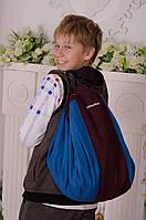 Сумка коврик для игрушек SteepBag большая голубая