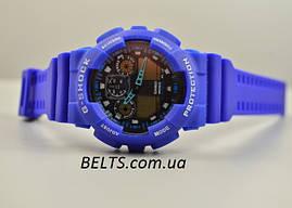 Наручний годинник Casio G-Shock (Касіо Джі Шок) – сині