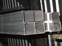 Труба алюмінієва профільна 45х2 мм АД31  купить цена на складе порезка доставка по Украине