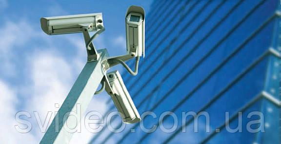 Монтаж системы видеонаблюдения под ключ
