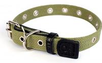 Ошейник усиленный хлопковый Collar 6756 безразмерный шир 35 мм, длина 63 см