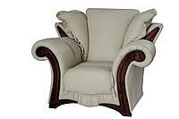 """Стильное мягкое кресло """"Mayfaer"""" (Майфаер). (128 см)"""