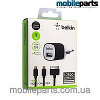 Сетевое зарядное устройство Belkin F8J017E для Apple  iPhone 4, 4S