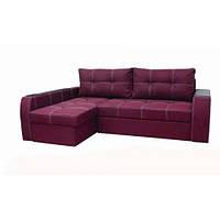 """Угловой диван """"Барон"""" «Savana Violet» (открывной подлокотник)"""