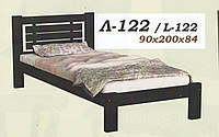 Кровать деревянная Л-122 1,0