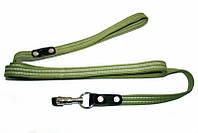 Поводок усиленный хлопковый Collar  0504 шир 25 мм, длина 2 метра