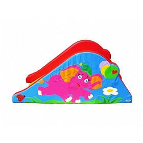 Дитяча ігрова гірка Слоник пвх