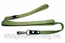 Поводок усиленный хлопковый Collar  0505 шир 25 мм, длина 3 метра