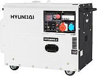 Генератор дизельный HYUNDAI PROFESSIONAL DHY 6000SE-3