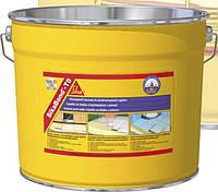 Клей-гидроизоляция полиуретан.,для приклеивания плитки на террасах,балконах,в ванных комнатах,SikaBond-T8, 10л