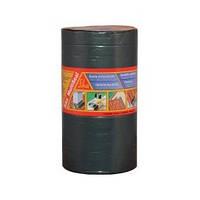 Лента битумная самоклейкая армирующая,  для швов,стыков,трещин / 10м x200мм и другие,  серая-Sika MultiSeal T