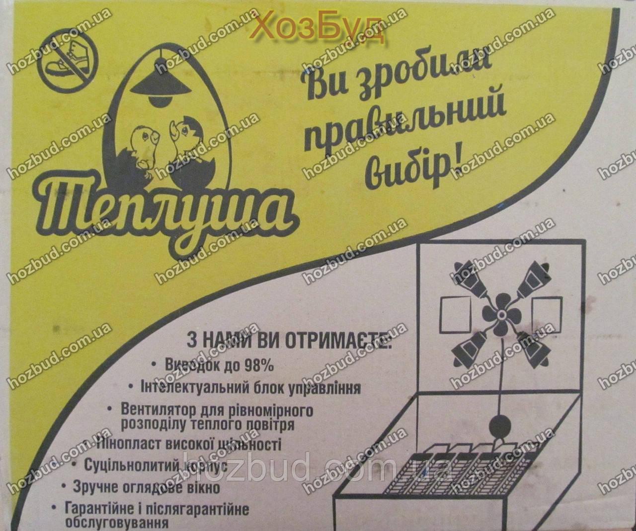 Инкубатор Теплуша (автомат, тэн, влагомер)