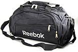 Спортивная сумка Reebok. Сумка в дорогу. Большая дорожная сумка. Сумка Reebok, фото 3