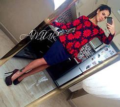 Костюм-кофточка и юбка