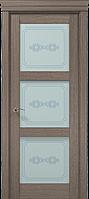 """Двери межкомнатные Папа Карло """"Milenium ML-07 бевелс"""" дуб серый брашированный"""