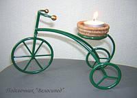 Подсвечник настольный «Велосипед»