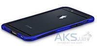 Чехол Macally Bampers Apple iPhone 6 Plus, iPhone 6s Plus Metallic Blue (RIMP6L-W)