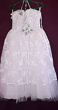 Платье бальное детское Бабочка 10-12 лет