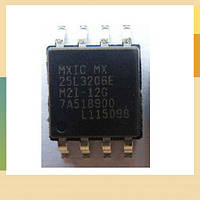 Чип 25L3206E SOP8, CMOS SERIAL FLASH, 32Мбит