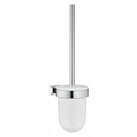 Tуалетный ершик в комплекте, стекло/металл, хром GROHE Essentials Cube 40513001