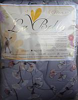Качественное одеяло с овечьей шерсти полуторное La Bella в асортименте, фото 1