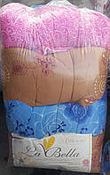 Красивое одеяло на овчине полуторное La Bella в асортименте