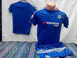 Футбольная форма Chelsea  2016 детская синяя