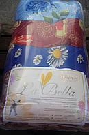 Красивое одеяло на овчине полуторное La Bella от поставщика