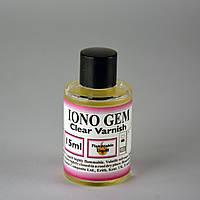Прозрачный лак Ионо Гем (Iono Gam clear varnish)  15 мл производства DCL (Великобритания)