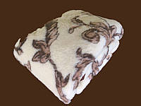 Одеяло шерстяное двустороннее, Евро Двуспальное