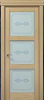 "Двери межкомнатные Папа Карло ""Milenium ML-07 бевелс"" дуб выбеленный"
