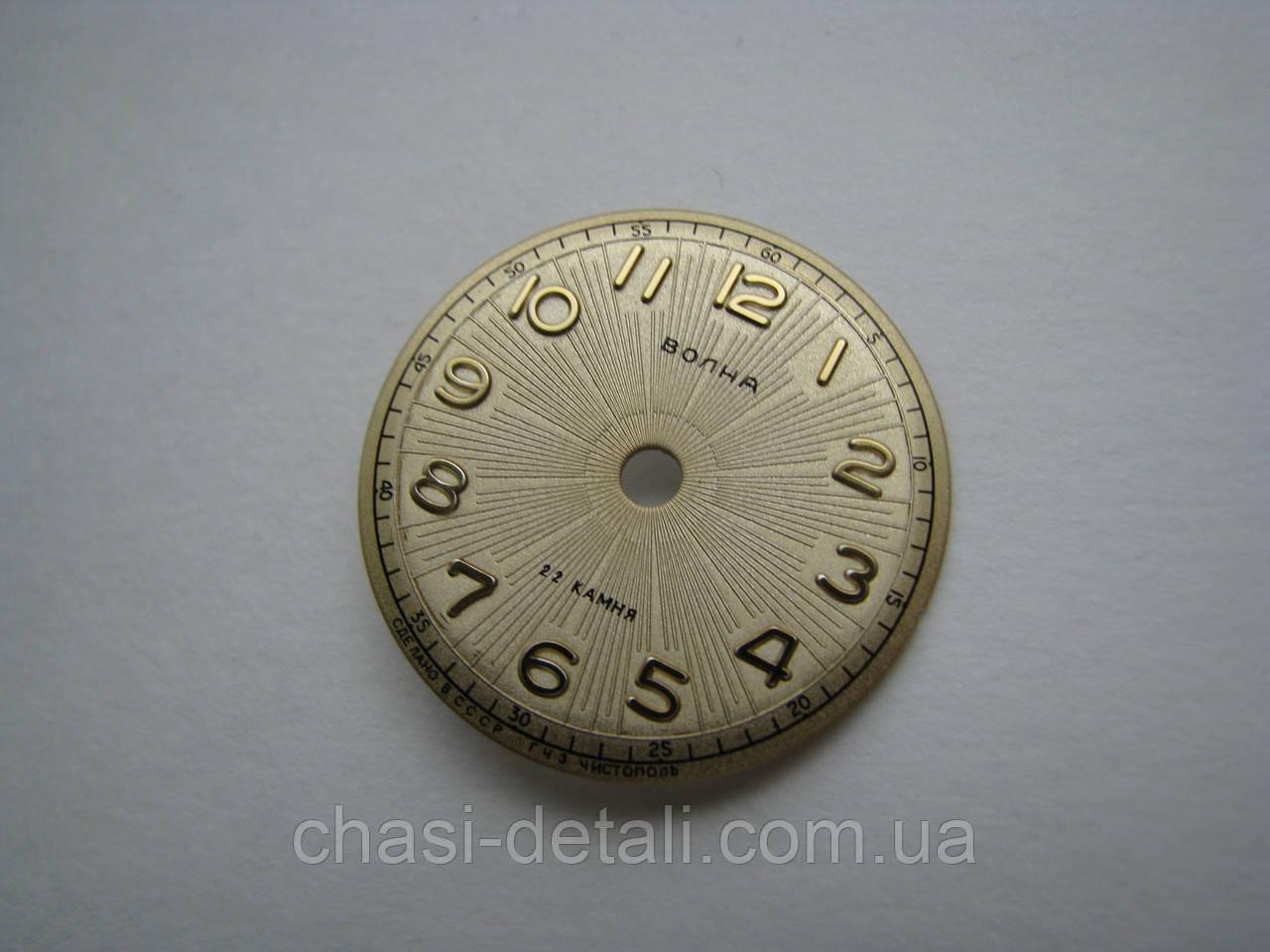Циферблат для часов Волна. Часы Волна.