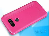 Чехол Nillkin Sparkle Leather Series LG G5 H860, G5 SE H845 Pink, фото 1