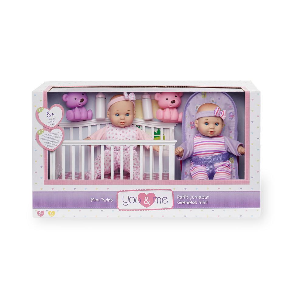 Пупсы You & Me  большой набор с двумя куклами.