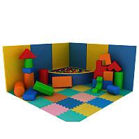 Детская игровая комната Проект №1 и сухой бассейн