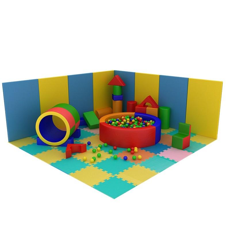 Детская игровая комната + сухой бассейн Проект №4