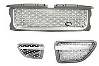 Решетка радиатора Land Rover Range Rover Sport (2005-2009) L320  Look Silver EditionRRS001