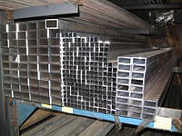 Труба алюминиевая профильная прямоугольная 60х30 мм х 2 мм АД31 цена купить на складе порезка доставк
