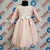 Платье нарядное на девочку гипюровое DEVA. ПОЛЬША.