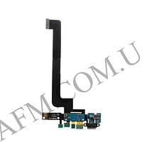 Шлейф (Flat cable) Xiaomi Mi4 с разъемом зарядки,   микрофоном с вибро