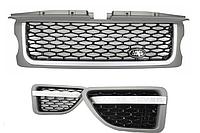 Решетка радиатора Land Rover Range Rover Sport (05-09) L320   Look Platinum Black Edition