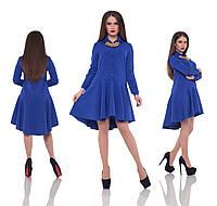 Платье Violet – Фиалка (платье-рубашка с юбкой солнце-клеш)