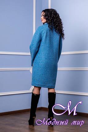 Женское стильное демисезонное пальто больших размеров (р. 44-56) арт. 985 Тон 31, фото 2
