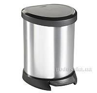 Металлизированный контейнер для мусора Деко Бин  303х268х448 мм