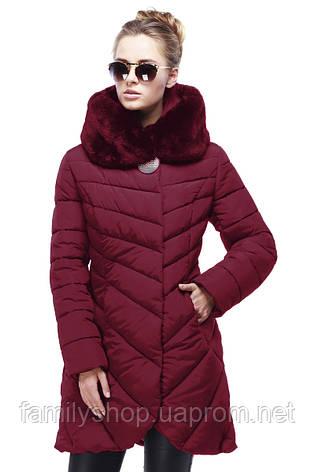Красивое женское зимнее пальто Дена Нью Вери (Nui Very) в Украине по низким ценам , фото 2