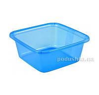 Миска квадратная Curver 00857  цвет - синий