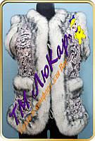 Безрукавка для женщин меховая